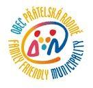 Logo obec přátelská rodině