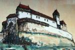 Nový hrad v dobách své slávy, autor: PhDr. Jiří Bartoň