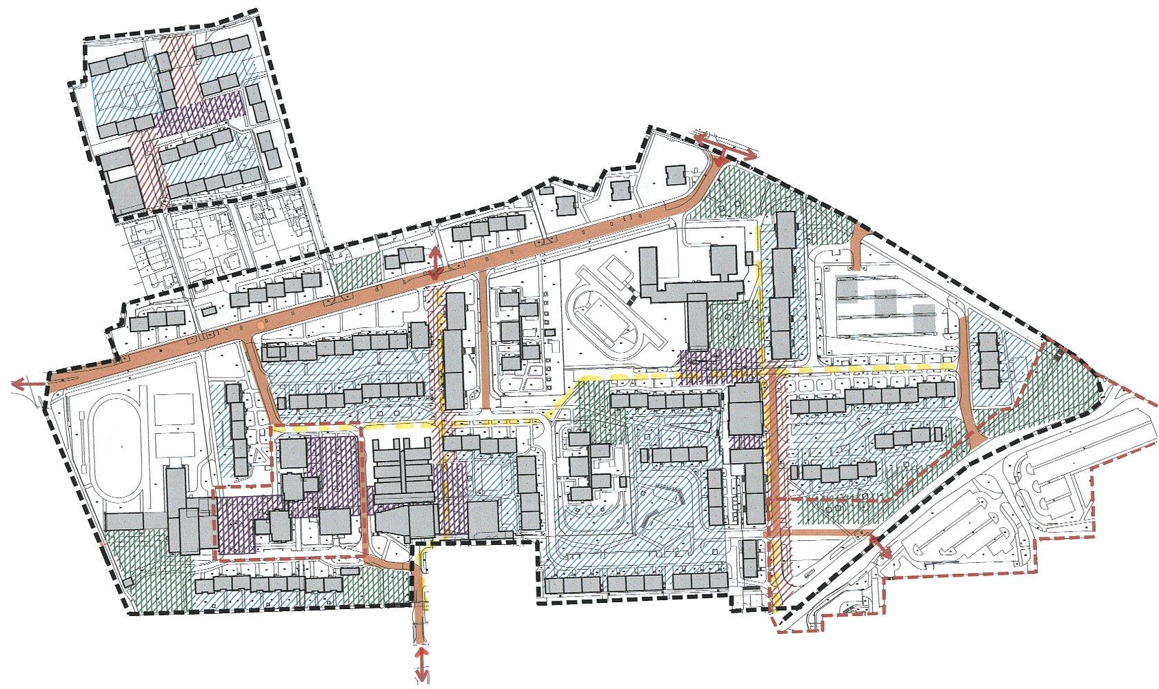 Funkční a prostorová regulace - schema, obrázek se otevře v novém okně