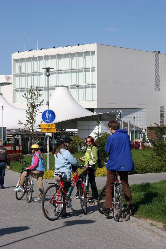 cykloprojížďka 02.05.2008 - OC Chodov, obrázek se otevře v novém okně