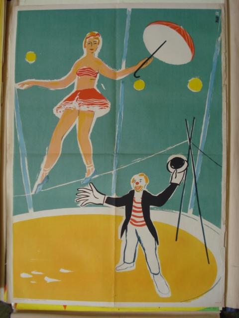 vystava cirkusovych plakatu2 repro NM, obrázek se otevře v novém okně